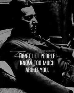 Read more about the article MAFIA QUOTES