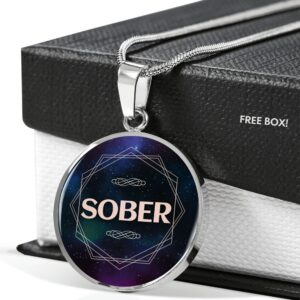 Read more about the article Sober Necklace – Silver / No
