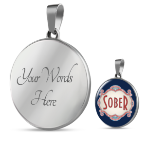 Read more about the article Sober Proud Necklace – Silver / Yes