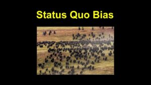 Read more about the article Status Quo Bias – Psychology Term Of The Day