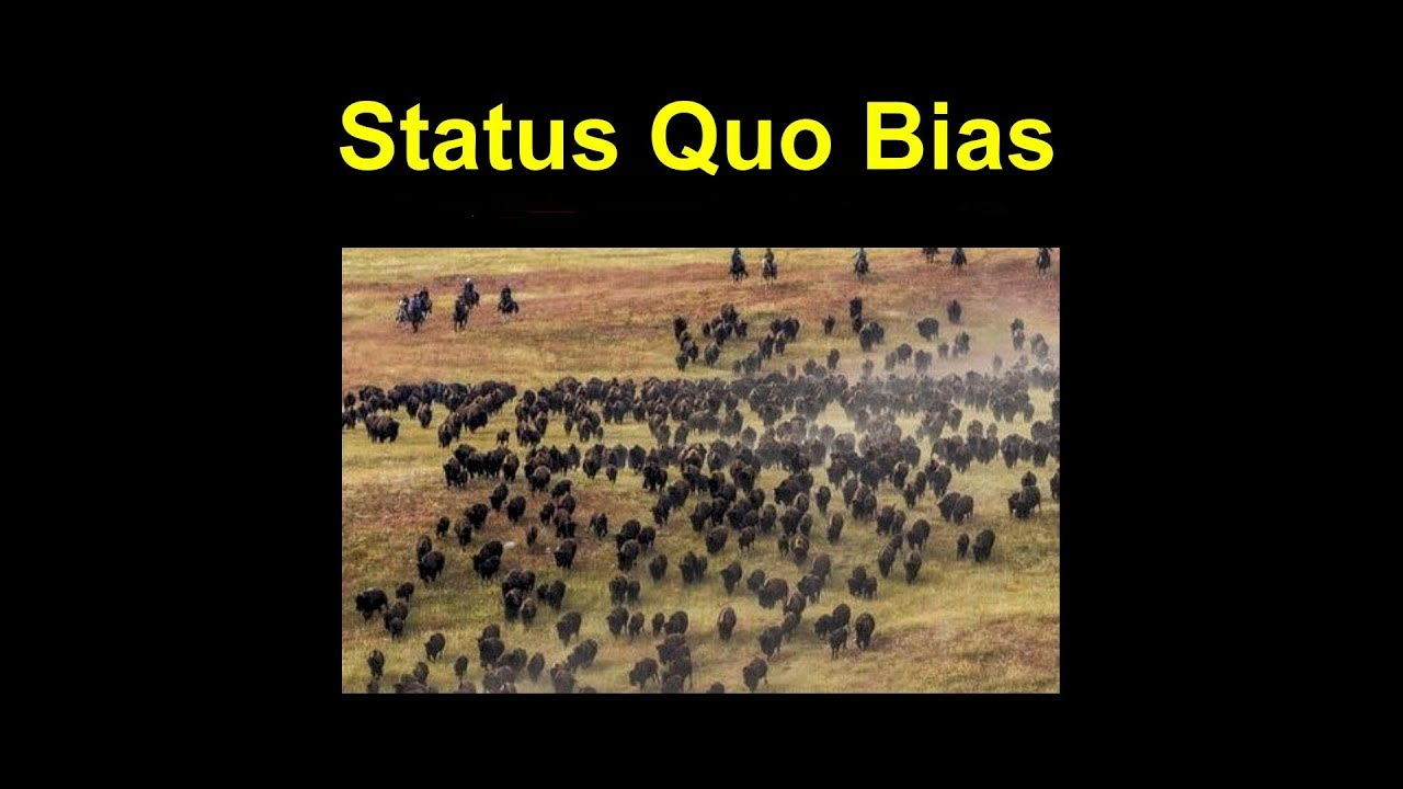 You are currently viewing Status Quo Bias – Psychology Term Of The Day