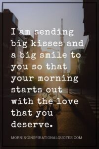 Read more about the article Sweet & Cute Good Morning Text For Him With Images