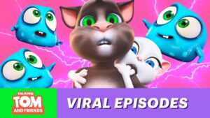 Read more about the article TOP 5 Most Viral Episodes of Talking Tom & Friends