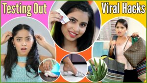 Read more about the article Testing VIRAL Life & Beauty HACKS | Anaysa