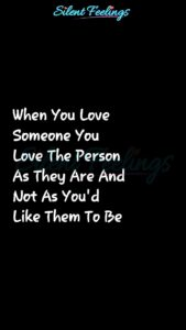 Read more about the article When You Love  Someone You  Love   Love Quotes Videos   Silent Feelings