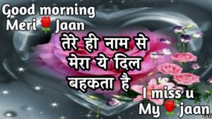 Read more about the article good morning romantic shayari   good morning shayari   new love shayari  