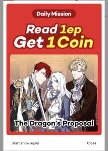 Read more about the article 9/5 Lezhin Daily Mission    3/3  title — where to find them   -> The Dragon's