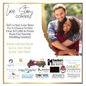 Read more about the article LOVE STORY CONTEST…Tell us your love story to win $9400 grand prize, $4550 2nd p